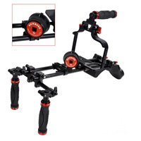 Pro stabilizer DSLDE-928 Hand and Shoulder Video Rig with handing DSLR CAGE for all camera and DSLR   30200250