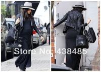 Side Hand Weave Designer Fashion Lady Chain Bag High Quality Suede Brand Women Shoulder Bag Black Tote Bag Handbag For Wholesale