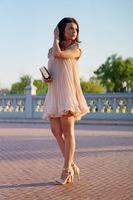 2013 Latest Autumn Korean Designer Vestido Stlye Cute Apricot Short Sleeve Lace Pleated Chiffon Short Dress Hot Sale Brand Women