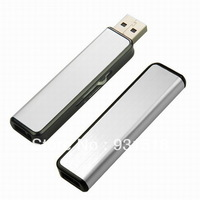 High Speed retractable metal USB Flash Drive 4GB  8GB full capacity and reliable quality  30PCS/LOT