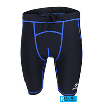 2014 men's compression tights base layer fitness underwear sports shorts.cycling running.box football soccer basketball.5503