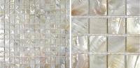 Freshwater Shell Mosaic Household Natural Color Modern Square Style Backsplash Bathroom Wall Tile Freeshipping Whosesale