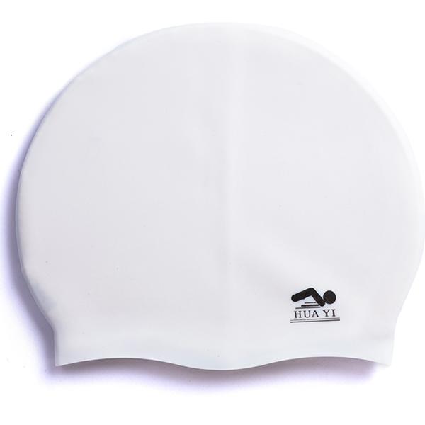 College custom silicone ladies adult funny swim cap(China (Mainland))