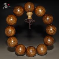 Putchuck mahogany bracelet gold sandalwood apotropaic bracelets beads accessories