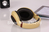 2014 Stylish HD Headphone/headset Excellent quality Super Stereo Noise cancelling retail box Free Shipping