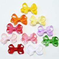 Wholesale 200pcs/lot Small Tiny Little Baby Bows Rainbow Free Shipping