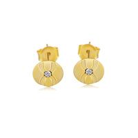 new arrival,for Kisvi 925 pure silver cubic zircon 18k series Women stud earring