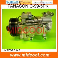 PANASONIC  A/C COMPRESSOR FOR MAZDA 3 & 5 (H12AOBW4JZ )