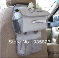 Car Auto Vehicle Seat Side Back Storage Pocket Backseat Hanging Storage Bags Organizer receive bag Free Shipping