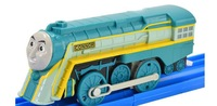 Free shipping Thomas Engine And Friends Motorized Train - CONNOR Holiday Gifts Children Plastic Toys
