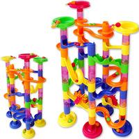 Plastic piping building blocks assembling building  orbit ball combination toy