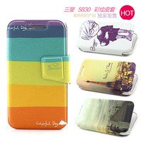 For samsung   s5830i mobile phone case protective case 5830 5833 5830i mobile phone protective case protective leather case