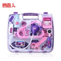 Children simulation medicine box house doctor toy 14pcs/set stethoscope injection toys free shipping