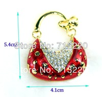 16GB Cute Red bag Pendant Drives 8gb Jewelry USB Drive 4GB 32GB USB Flash Brand New Good Quality Full Capacity! Free Shipment