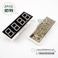 "Free Shipping  CPS05641AR Common Cathode 4Bit Digital Tube 7 segment 0.56"" Red LED Display 10PCS/LOT"