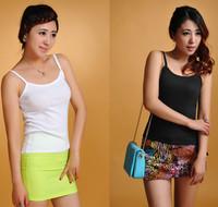 free shipping Slim basic vest female small vest cotton spaghetti strap shirt women sport top