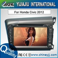 high quality car mutimedia special for HONDA CIVIC Left hand drive car dvd player with GPS navigation system,BT,radio and so on