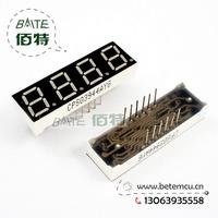 "Free Shipping  CPS03944AYG Common Cathode 4Bit Digital Tube 7 segment 0.39"" Green LED Display 10PCS/LOT"