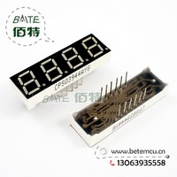 "Free Shipping  CPS03944AYG Common Cathode 4Bit Digital Tube 7 segment 0.39"" Green LED Display 10PCS/LOT"