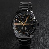 Promotion Curren Luxury Brand Men Full Stainless Stell Watches Date Relogio Masculino Men Quartz Wrist Watch Free Shipping