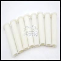 Free Shipping Motorcycle handlebar inner tube motorcycle throttle inner tube plastic handle inner tube knopper white sets