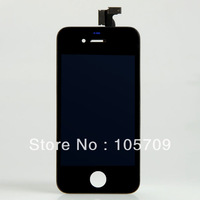 10PCS LCD Touch Screen Glass Display Assembly for iPhone 4G Black BA019