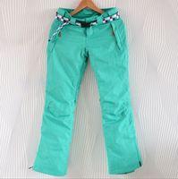 Waterproof adhesive Women women's skiing pants ski suit  skiing jackets