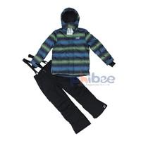 Phibee thickening male child ski suit set twinset - 30  skiing jackets