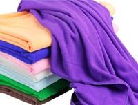 Plus Size Ultrafine Fiber Bath Towel Soft Adult Child Microfiber Super Absorbent Shower Towels 70*140cm Cleaning Towel