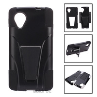 For Google Nexus 5 Case Hybrid Impact Dual Layer Case Cover Kickstand for Google Nexus 5  LG D820 D821 E980 Phone Case