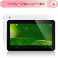 Freelander PD500C 10 Inch Tablet PC Action ATM7021A Dual Core 1.3GHz 512MB/8GB Dual Camera HDMI OTG 1024*600pix