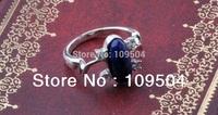 Lapis Lazuli Ellipse ring Elena Gilbert Ring The Vampire Diaries Vintage Retro Punk Ring ZR7