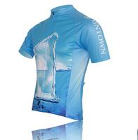 мигающий свет Велоспорт болельщиками воздуха Велоспорт одежда с короткими рукавами блузки велосипед костюм / Велоспорт одежда 815-59