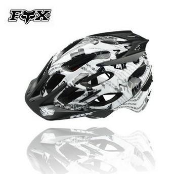 Free Shipping Fox Flux Climb Bicycle Helmet Mountain Bike Helmet(China (Mainland))