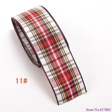 Free Shipping 1 gingham ribbon cheapest for 50 yards