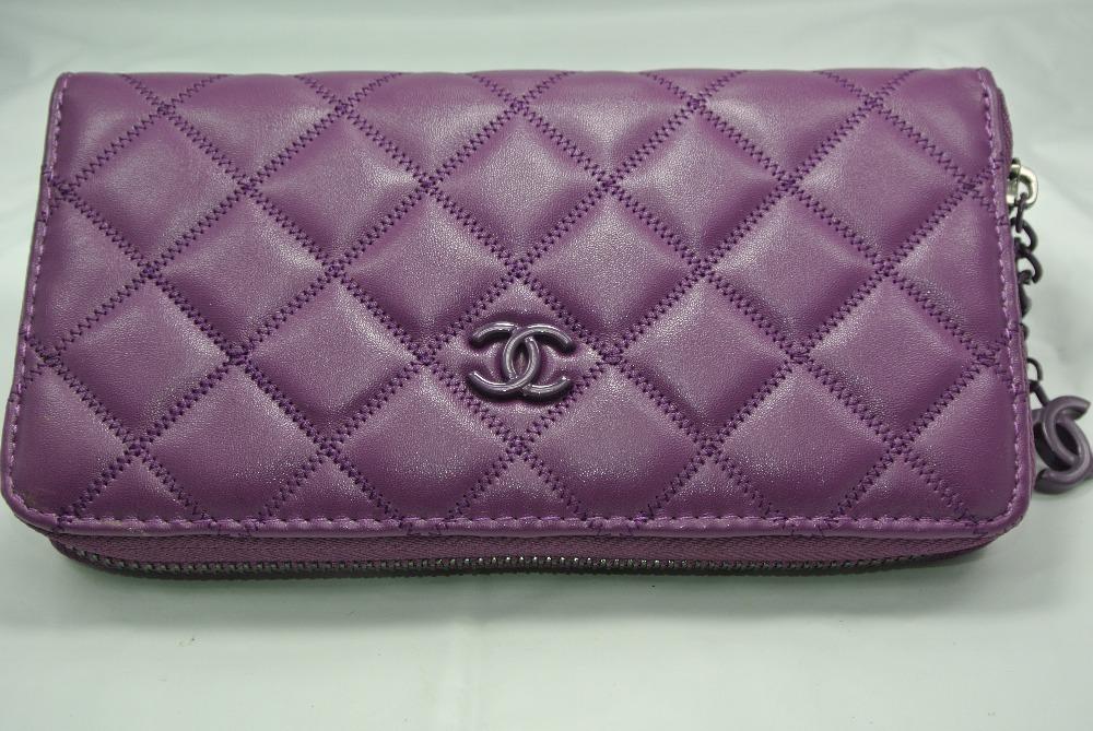 Famous Purple Logos Purse Famous Brand Logo