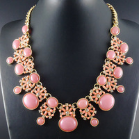 2014 New Unique Design Turquoise Fashion Choker Statement Bib Chunky Necklaces Jewelry for women