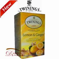 Free shipping Twinings lemon ginger tea 20  wholesale