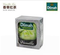 Free shipping 4 box dilmah vanilla black tea 10  wholesale