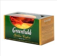 Free shipping Greenfield ceylon black tea 25 ahmad  wholesale