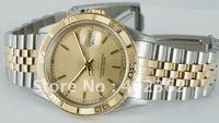 Luxury Mens DateJust Thunderbird Gold Stick Dial 16263 Watch 36mm Men Dive Watches Sport Wristwatch