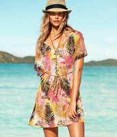2014 new palm beach dress holiday dress pattern beachwear