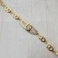 ISE0202 18K gold plated Filled pendants Bracelet