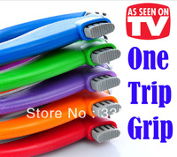 Free Shipping 10Pcs/Lot One Trip Grip Bag Holder Useful Ergonomic Housewife Grocery Shopping Tool Retail Package As Seen On TV