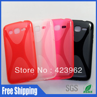 X design soft skin for Samsung Galaxy win Pro G3812 Wholesale free shipping