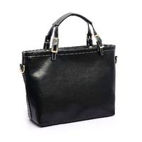 Vintage bag fashion women's handbag shoulder bag wax oil leather genuine leather women's handbag genuine leather