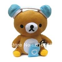 2014most popular doll Speaker with FM Radio Mini Speaker support U Disk SD Card-Rilakkuma