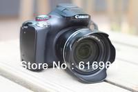 Wholesale! Original lens hood for canon PowerShot SX10 SX20 SX30 IS SX40 SX50 HS lens hood LH-DC60