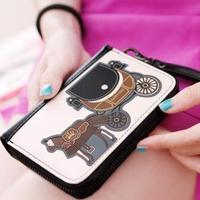 fashion PU women wallets vintage small carriagepurse girl bag women leather handbags free shipping