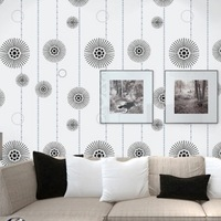 Modern Minimalist country floral for wall paper roll cartoon  wallpaper For TV Sofa backgroumd wall R149
